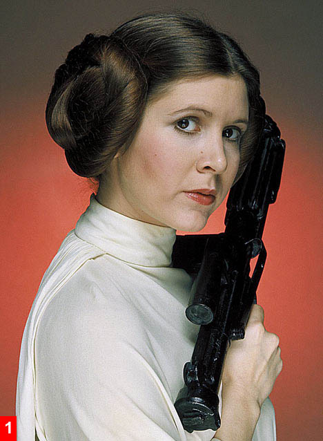 Princess Leia from A New Hope