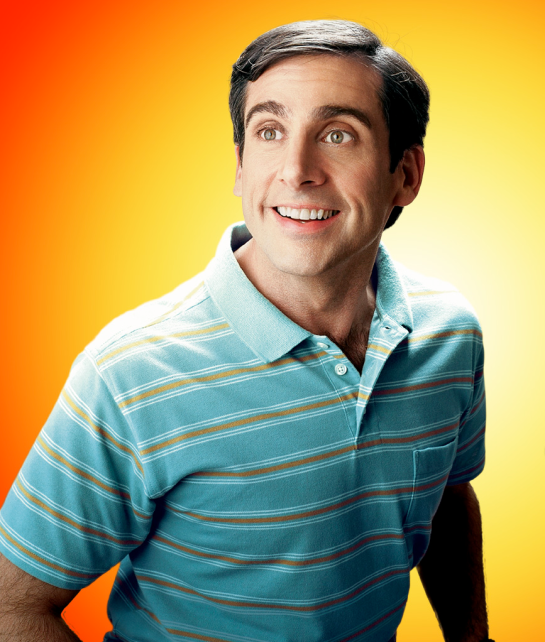 Steve Carrell from the 40 Year Old Virgin