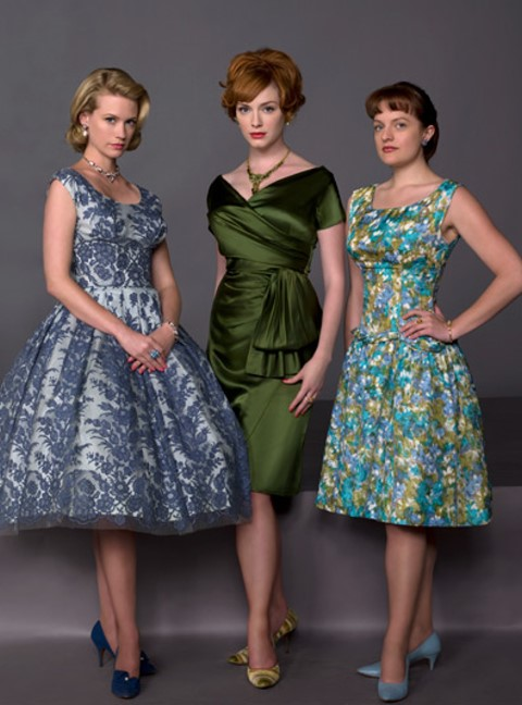 Betty Draper, Joan Holloway, Peggy Olson of Mad Men