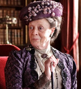 Maggie Smith from Downton Abbey