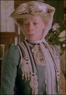 Dame Maggie Smith as Charlotte Bartlett