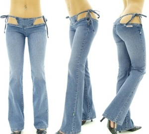 jeans that are also bikini bottoms