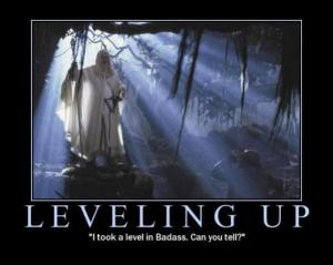 Gandalf the White has leveled up.