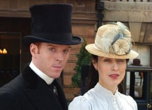 Soames and Irene Forsyte from The Forsyte Saga
