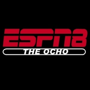 The ESPN8 Ocho Logo from Dodgeball
