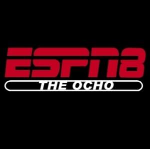 The ESPN8 Ocho Logo from Dodgeball