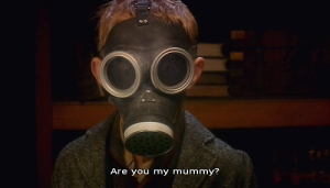 Are you my mummy/The Empty Child from Doctor Who.