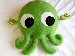 A cute plush Cthulu