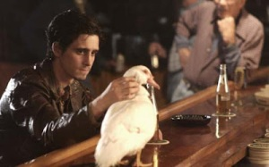 Ziggy and his duck in the bar from The Wire.
