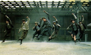 Newsies dancing