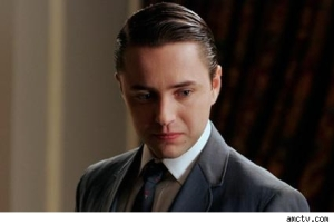 Pete Campbell Making Poutyface