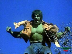 The Hulk Hulking Out