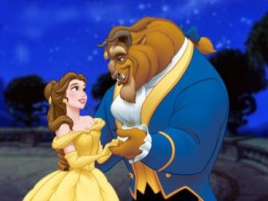 still frame from Disney's Beauty and the Beast