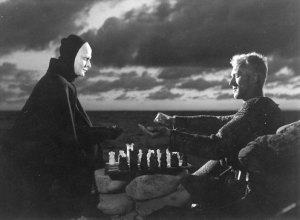 Chess game from Bergman's The Seventh Seal