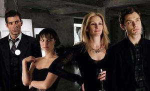 Cast of Closer: Clive Owen, Natalie Portman, Julia Roberts, Jude Law
