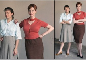 Joan & Peggy from AMC Mad Men