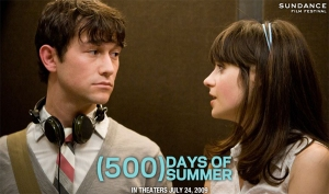 Poster from 500 Days of Summer.