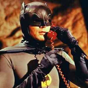 Batman on the Batphone