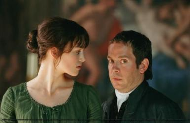Mr. Collins & Lizzie Bennet from Joe Wright adaptation of Pride & Prejudice