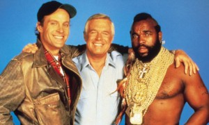 Murdoch, Hannibal, and BA from The A-Team