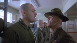 Private Pyle from Full Metal Jacket.