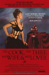 Movie Poster for The Cook, The Thief, the Wife, and Her Lover