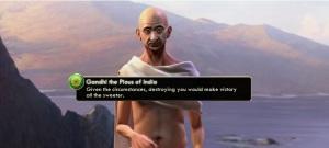 Gandhi from Civ 5