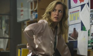 Gillian Anderson as DS Stella Gibson in The Fall