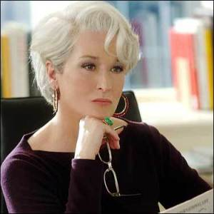 Miranda Priestley from The Devil Wears Prada