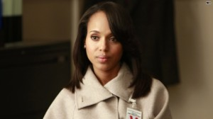 Kerry Washington as Olivia Pope