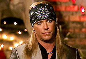 Bret Michaels from Rock of Love Bus