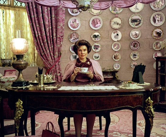 Dolores Umbridge from Harry Potter movies