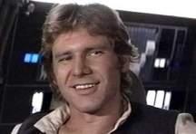 Han Solo smirking