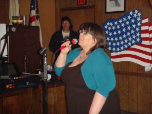 Me singing karaoke, 2012