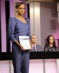 """America's Next Top Vampire"" -- America's Next Top Model on The CW.  pictured left to right: Tyra Banks, Nigel Barker and Dania Ramirez Cycle 14 Photo: Barbara Nitke/The CW ©2009 The CW Network, LLC. All Rights Reserved"