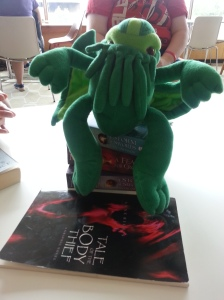Kate's plush Cthulu