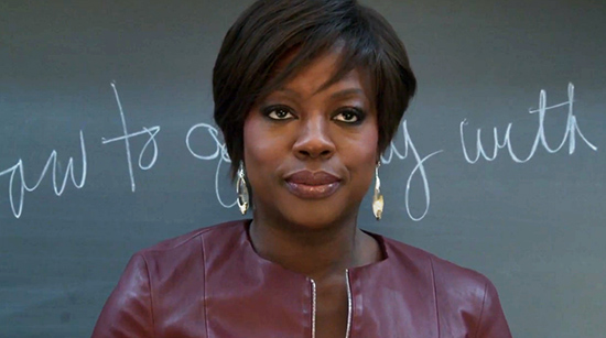 Viola Davis from How To Get Away With Murder